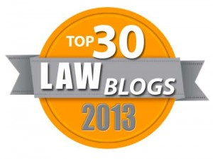 Best Law Blogs 2013