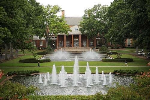 Furman University Most Beautiful Campus