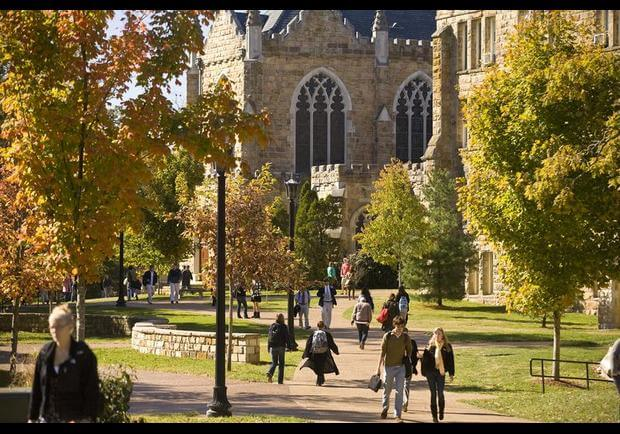 Sewanee The University of the South Most Beautiful Campus