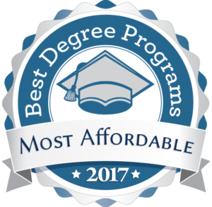 Best Degree Programs - Most Affordable 2017