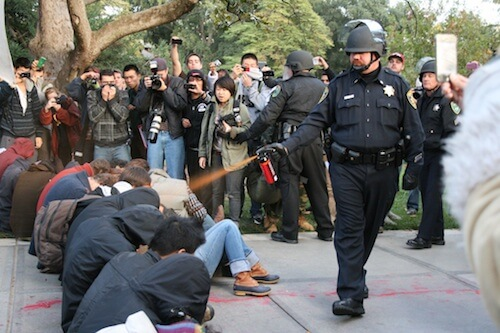 Occupy Wall Street UC Davis - 20 of the Most Important College Protests
