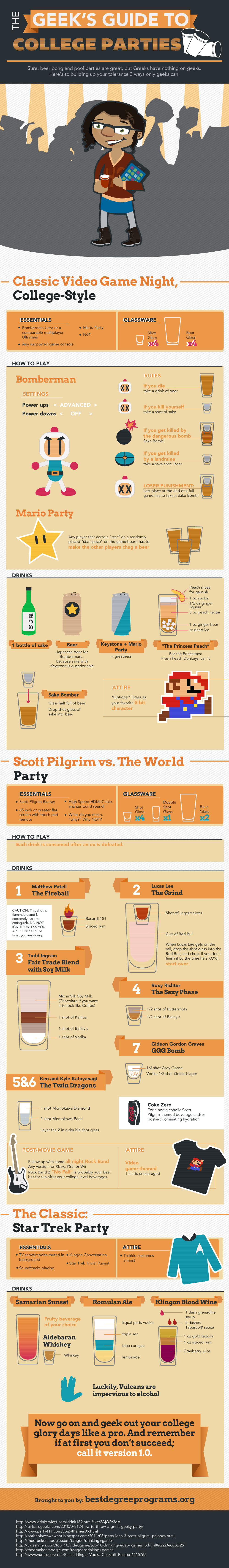 Geek's Guide to Partying
