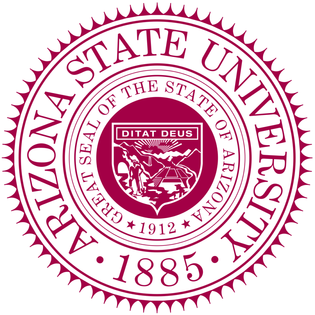 A logo of ASU for our ranking of Top 30 Political Science Degree Online Programs Bachelor's