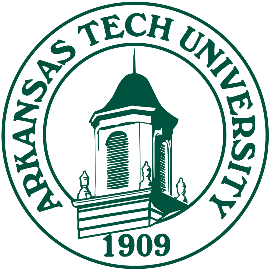 A logo of Arkansas Tech University for our ranking of Top 30 Political Science Degree Online Programs