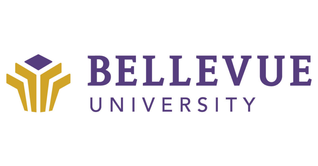 A logo of Bellevue University for our ranking of Best Online Bachelor's in Graphic Design Programs