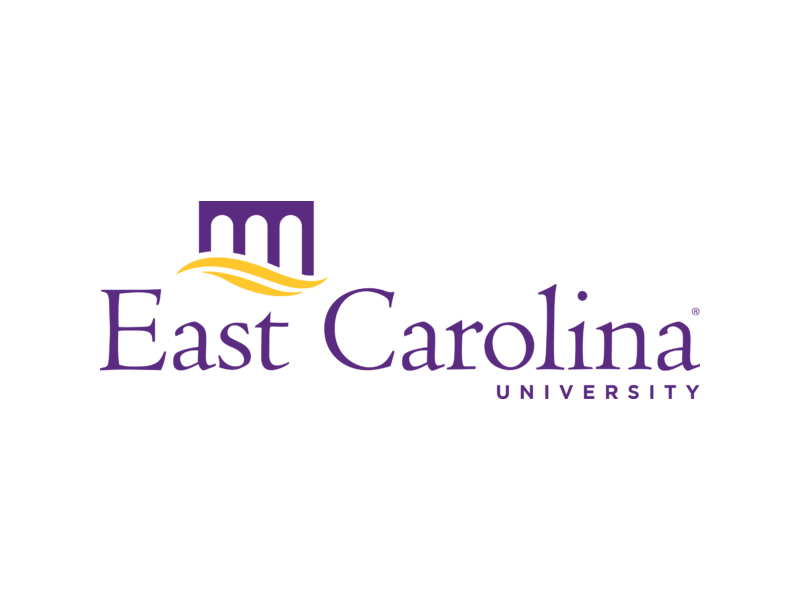 A logo of East Carolina University for our ranking of Best Online Bachelor's in Special Education Programs