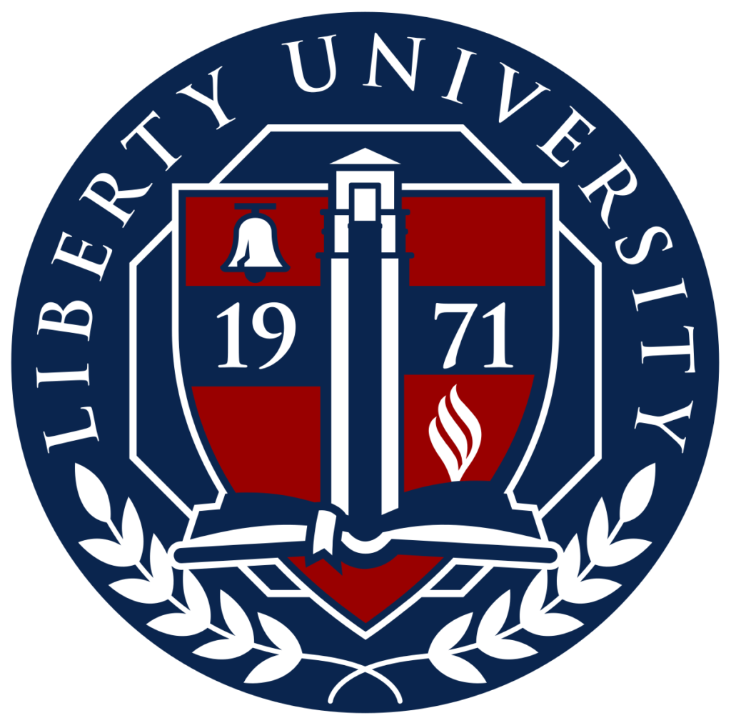 A logo of Liberty University for our ranking of Top 30 Political Science Degree Online Programs (Bachelor's)