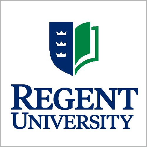 A logo of Regent University for our ranking of Best Online Bachelor's in Graphic Design Programs