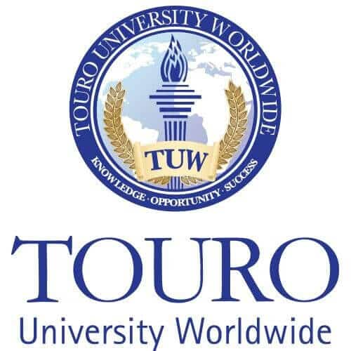 A logo of Touro University Worldwide for our ranking of Best Online Bachelor's in Special Education Degree Programs