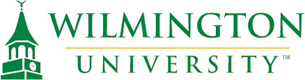 A logo of Wilmington University for our ranking of Top 30 Political Science Degree Online Programs