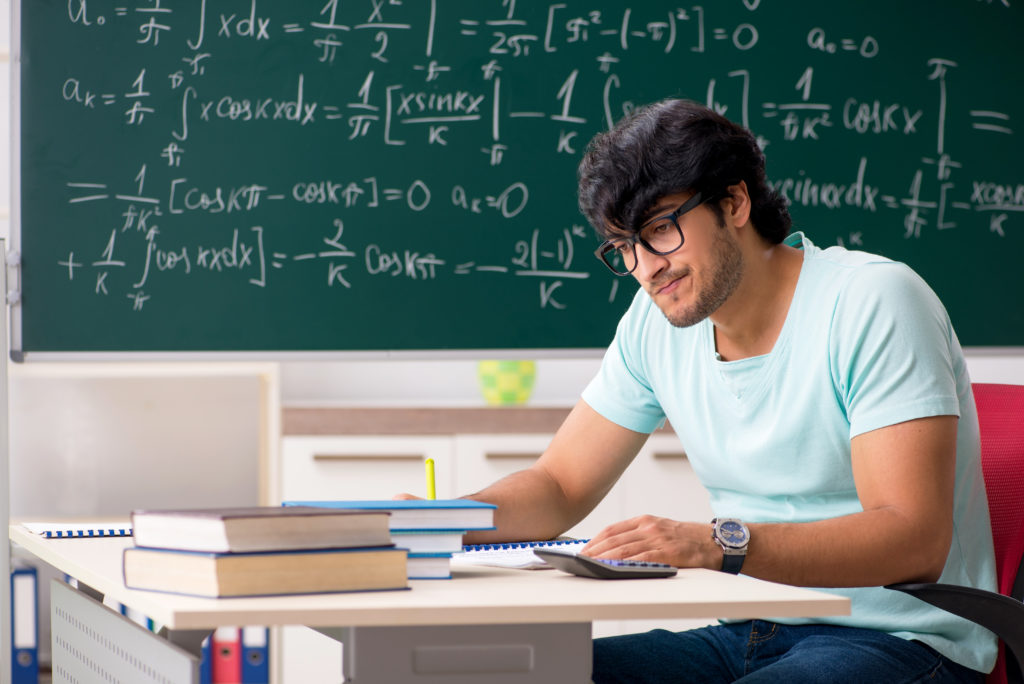 An image of a math student for our FAQ about the Top 10 Best Majors for Indecisive Students