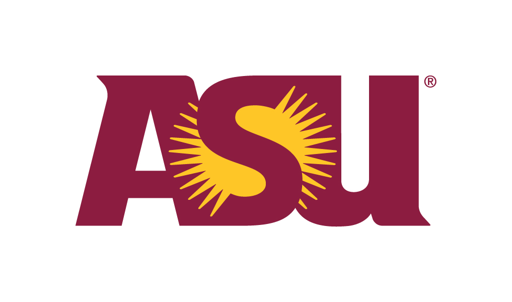 A logo of Arizona State University for our ranking of Best Affordable Online Bachelor's in Electrical Engineering