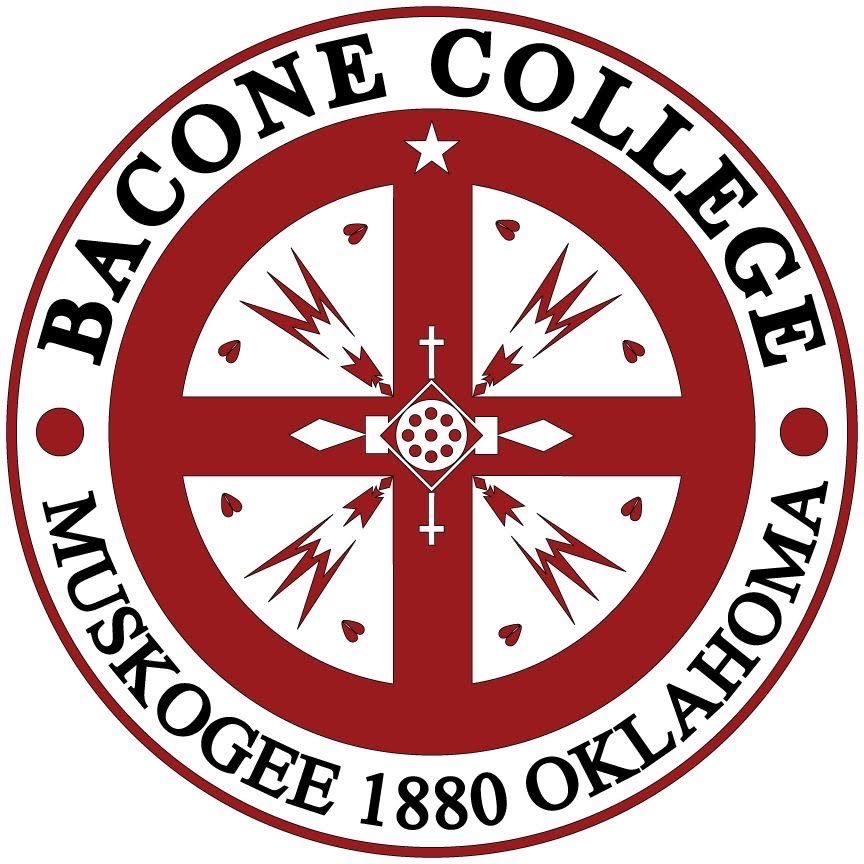 A logo of Bacone College for our ranking of 30 Great Small Colleges for a Teaching Degree