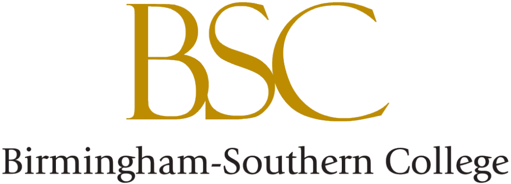 A logo of Birmingham Southern College for our ranking of 30 Great Small Colleges for a Teaching Degree