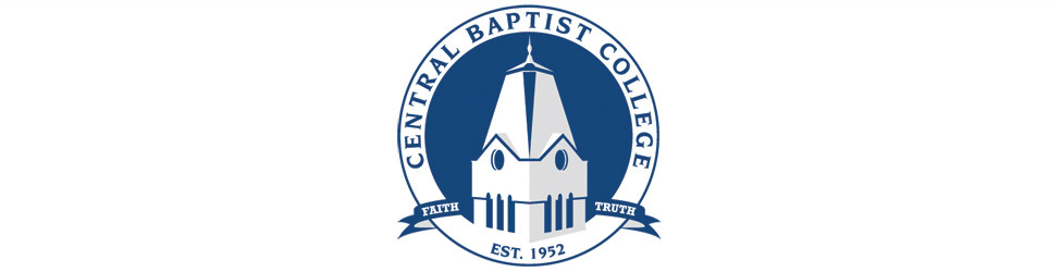A logo of Central Baptist College for our ranking of 30 Great Small Colleges for a Teaching Degree