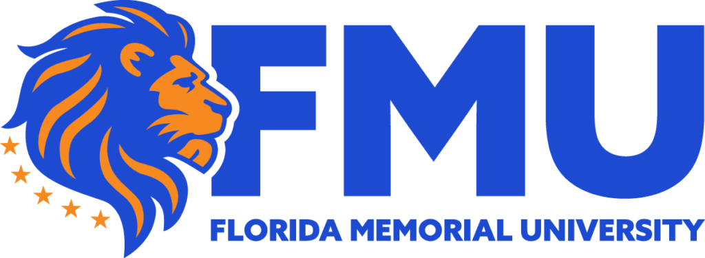 A logo of Florida Memorial University for our ranking of 30 Great Small Colleges for a Teaching Degree