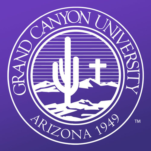 A logo of Grand Canyon University for our ranking of Top 30 Best Religious Studies Degree Online Programs