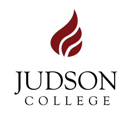 A logo of Judson College for our ranking of 30 Great Small Colleges for a Teaching Degree