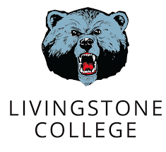 A logo of Livingstone College for our ranking of 30 Great Small Colleges for a Teaching Degree