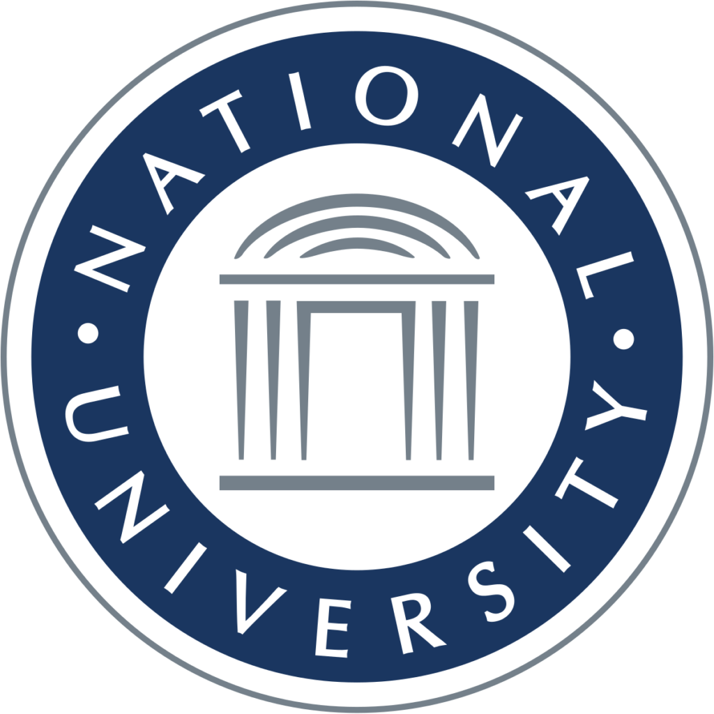 A logo of National University for our ranking of Best Affordable Online Bachelor's in Electrical Engineering