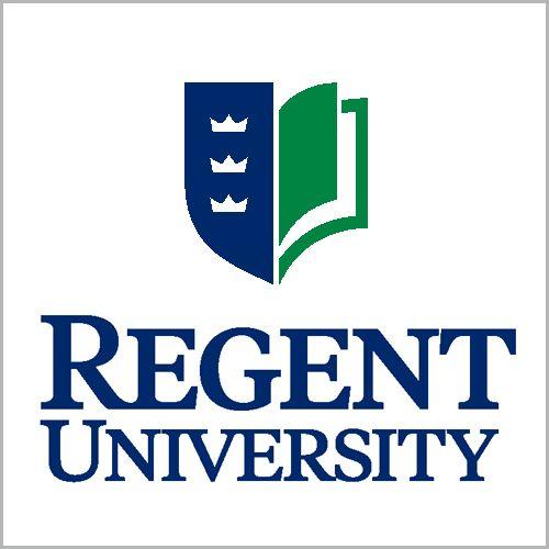 A logo of Regent University for our ranking of Top 30 Best Religious Studies Degree Online Programs