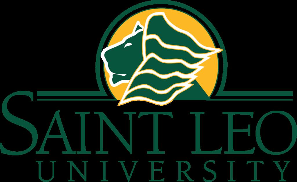 A logo of Saint Leo University for our ranking of Top 30 Best Religious Studies Degree Online Programs