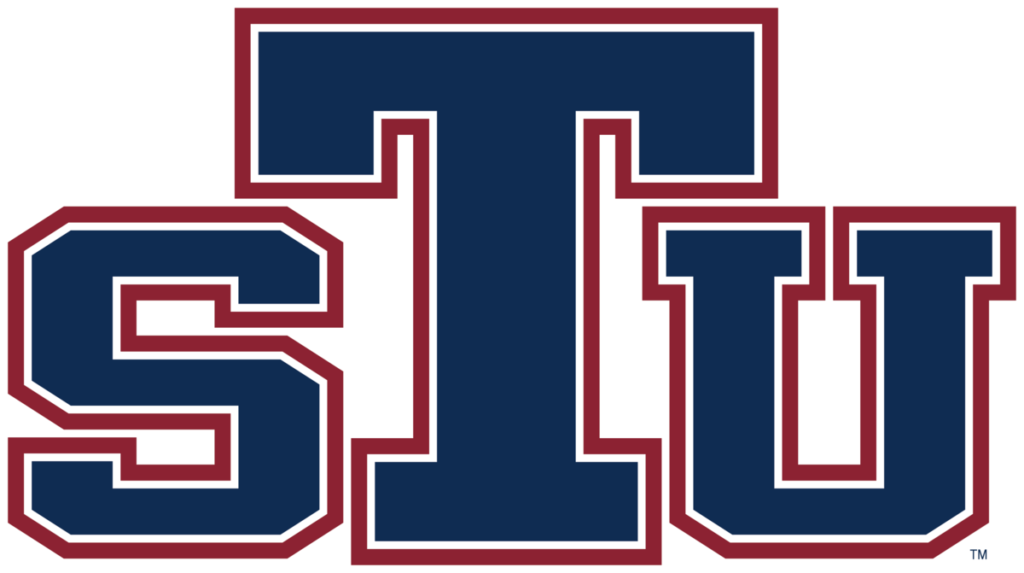A logo of St. Thomas University for our ranking of Top 30 Best Religious Studies Degree Online Programs