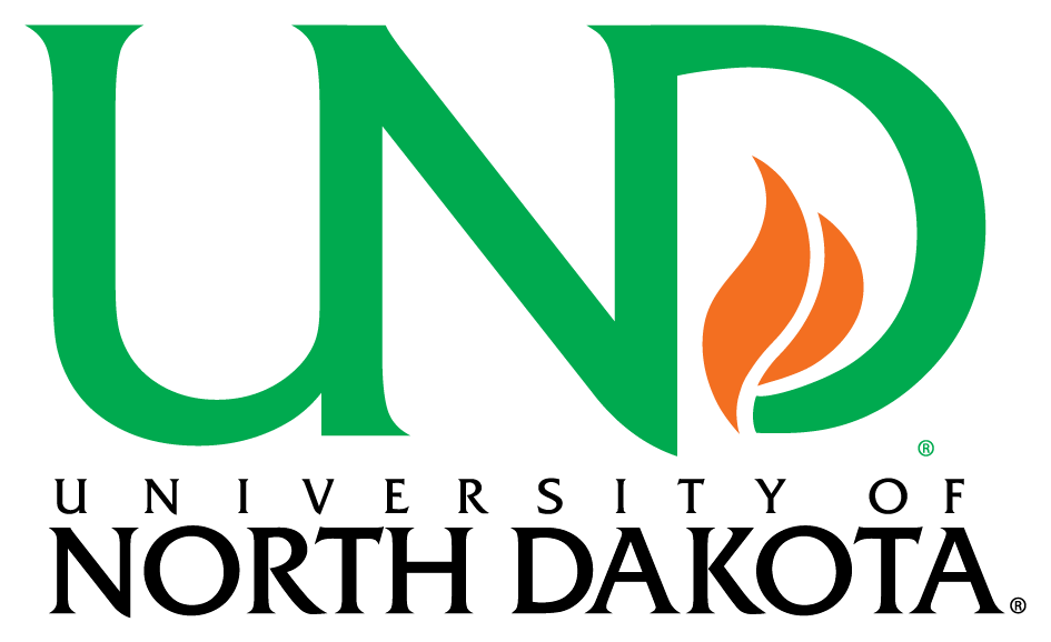 A logo of University of North Dakota University for our ranking of Best Affordable Online Bachelor's in Electrical Engineering