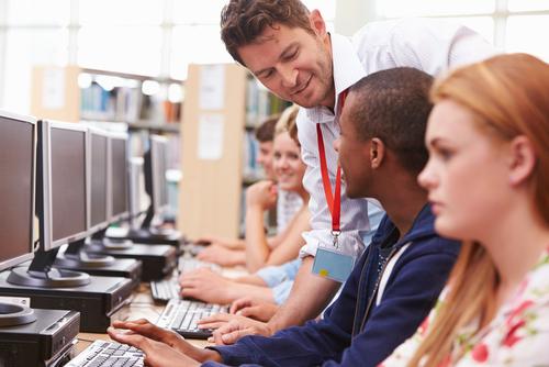 computer teacher in high school