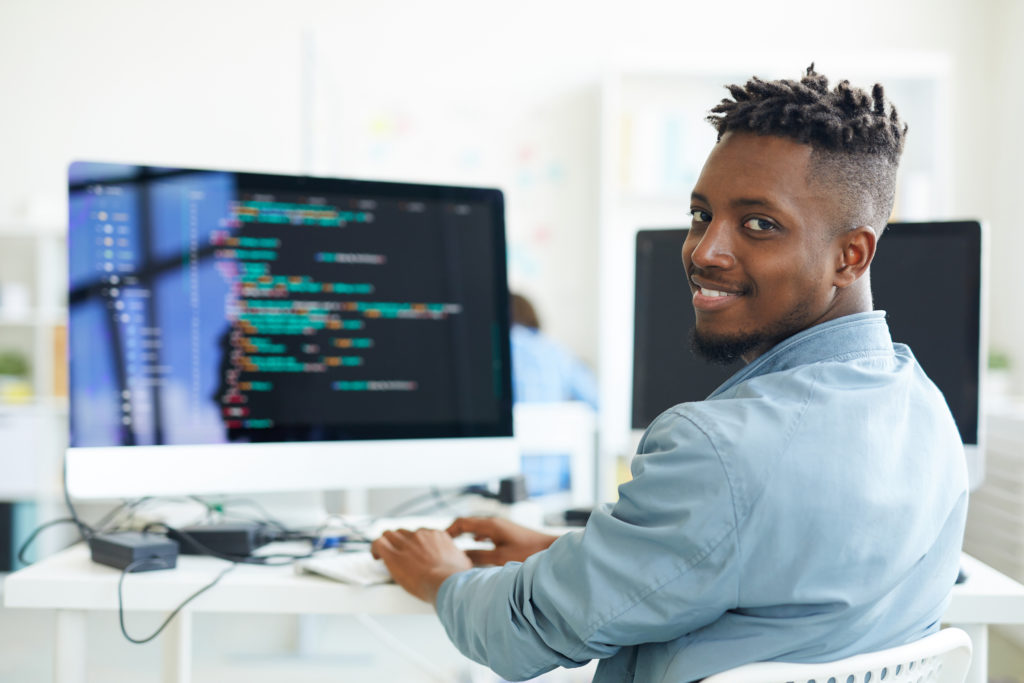 An image of a software developer for our FAQ on the 5 Top Paying Jobs in Software Development