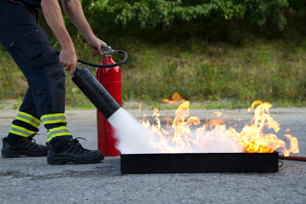 An image of a firefighter for our FAQ on the Best Degree Path for Becoming a Firefighter