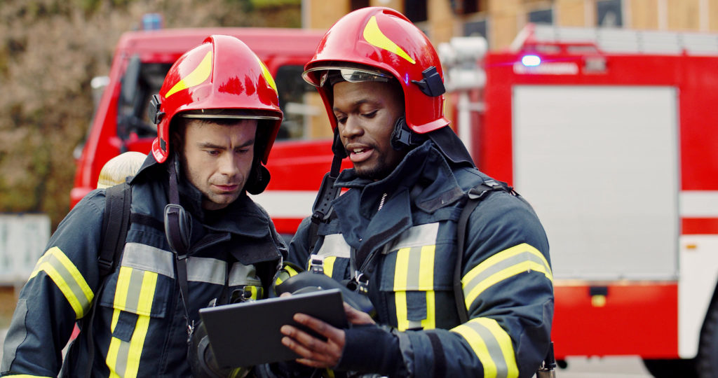 An image of firefighters for our FAQ about the Best Degree Path for Becoming a Firefighter