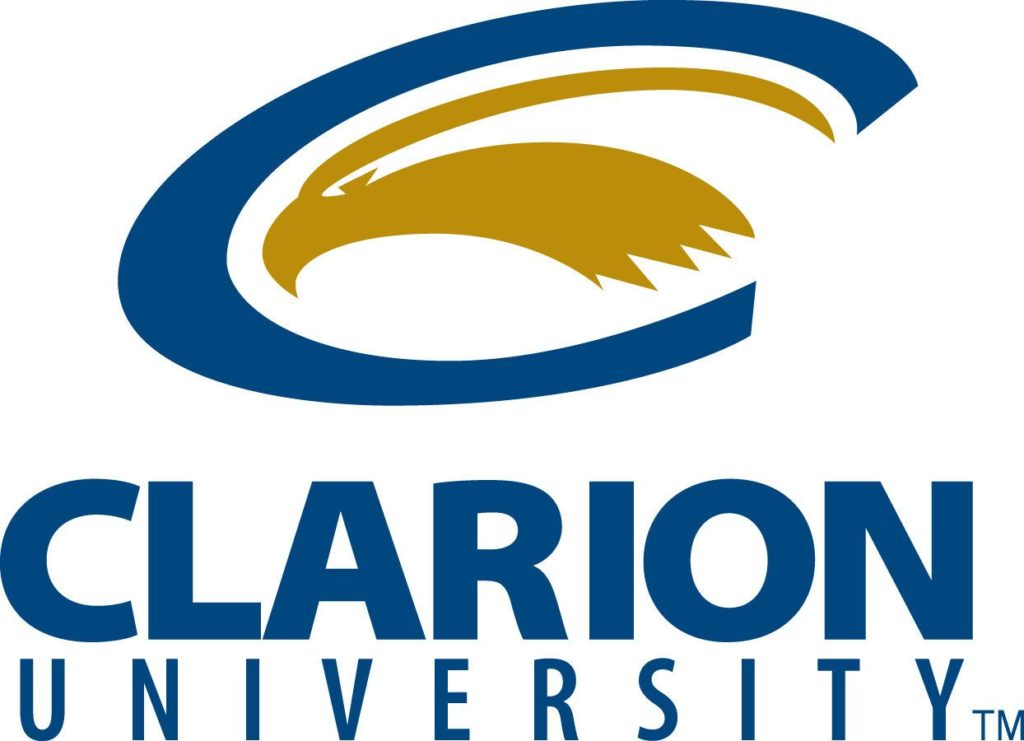 A logo of Clarion University for our ranking of the 30 Best Online Bachelor's in English Degrees