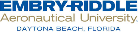 A logo of Embry-Riddle for our ranking of 30 Best Online Engineering Degrees