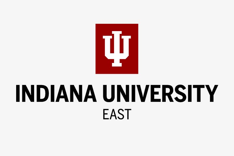 A logo of Indiana University East for our ranking of the 30 Best Online Bachelor's in English Degrees
