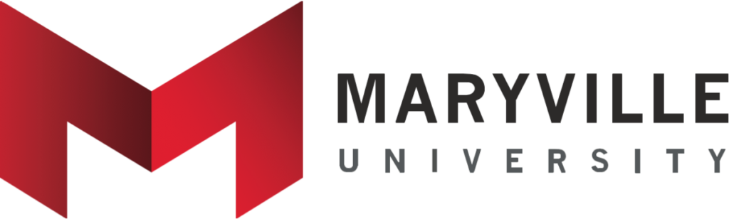 A logo of Maryville University for our ranking of the 30 Best Online Bachelor's in English Degrees
