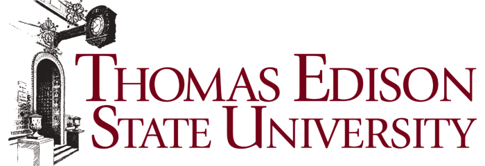 A logo of Thomas Edison State University for our ranking of the 30 Best Online Bachelor's in English Degrees