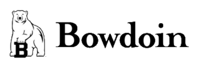 A logo of Bowdoin College for our ranking of 30 Great Small Colleges for STEM Degrees