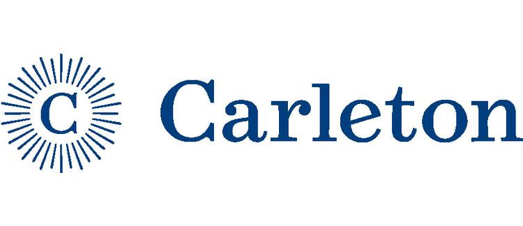 A logo of Carleton College for our ranking of 30 Great Small Colleges for STEM Degrees