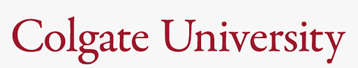 A logo of Colgate University for our ranking of 30 Great Small Colleges for STEM Degrees