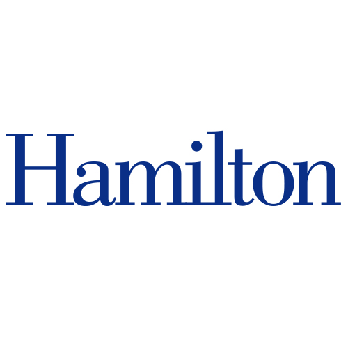 A logo of Hamilton College for our ranking of 30 Great Small Colleges for STEM Degrees