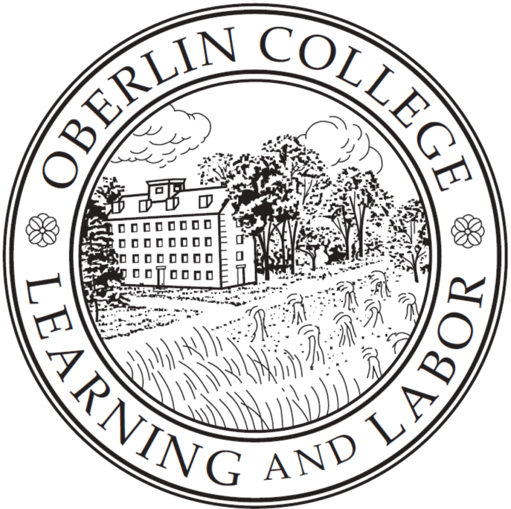 A logo of Oberlin College for our ranking of 30 Great Small Colleges for STEM Degrees