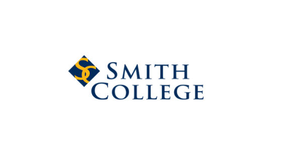 A logo of Smith College for our ranking of 30 Great Small Colleges for STEM Degrees
