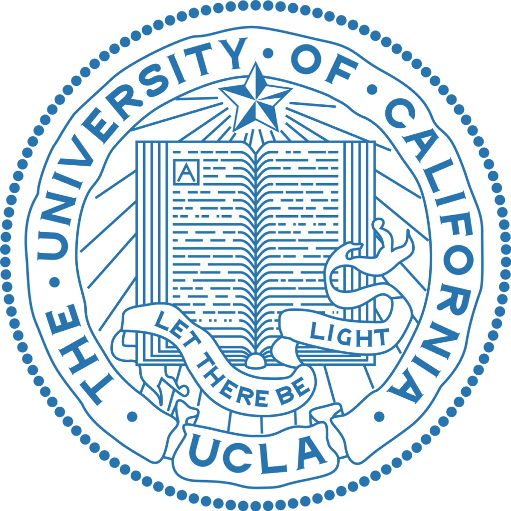 A logo of University of California for our ranking of 10 Best University Jazz Programs