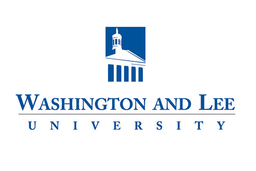 A logo of Washington and Lee University for our ranking of 30 Great Small Colleges for STEM Degrees