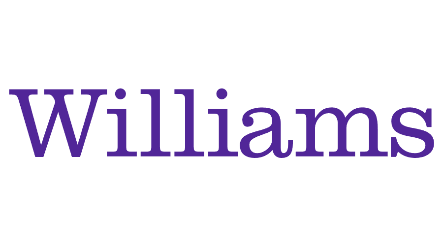A logo of Williams College for our ranking of 30 Great Small Colleges for STEM Degrees